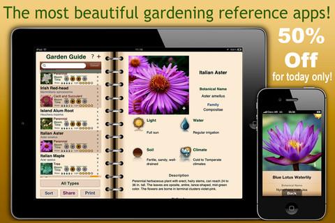 garden lite Conoce de jardines y plantas con Garden lite para iOS
