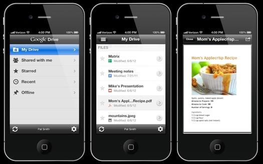 Google Drive para iOS disponible para descargar - google-drive-ios