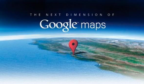 Google presenta un Google Maps de otra dimensión - google-maps-590x344