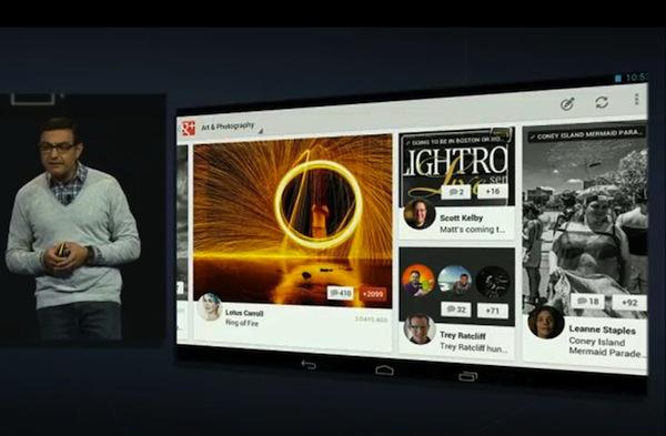 Aplicación de Google+ para tabletas Android disponible para descargar, versión para iPad en camino - google-plus-ipad-android