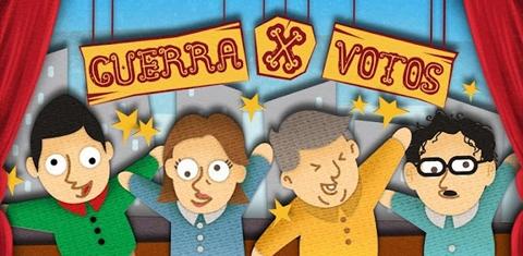 Guerra x votos, juega con las encuestas presidenciales en tu móvil - guerra-x-votos