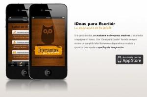 iDeas para Escribir, una genial aplicación para escritores