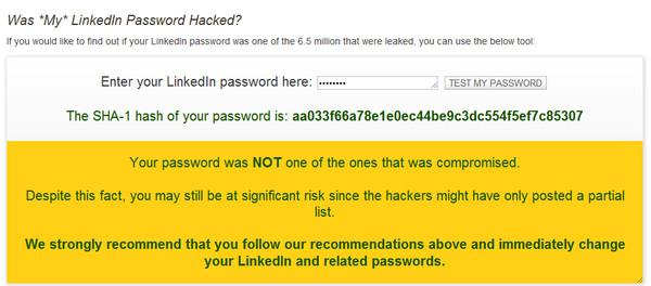 linked in password Cómo saber si tu contraseña de LinkedIn fue hackeada