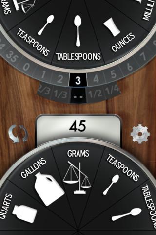 Kitchen Dial, un útil conversor de unidades para cocinar sin problemas
