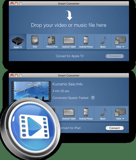 Smart Converter, un práctico y gratuito convertidor de videos