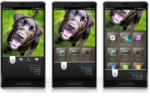 Sharp muestra su espectacular interfaz Feel UX para Android