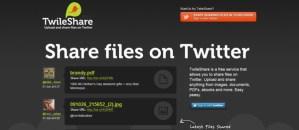Comparte archivos en Twitter con Twileshare