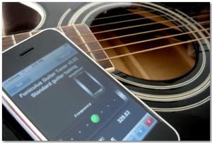 3 Aplicaciones para afinar tu guitarra en tu iPhone/ iPod