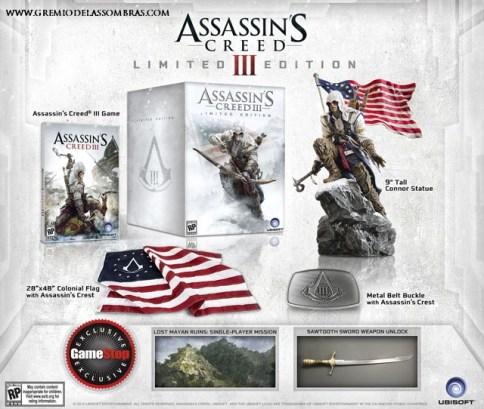 Assassin's Creed III Edición Limitada es presentada por Ubisoft - AC3LimitedEdition