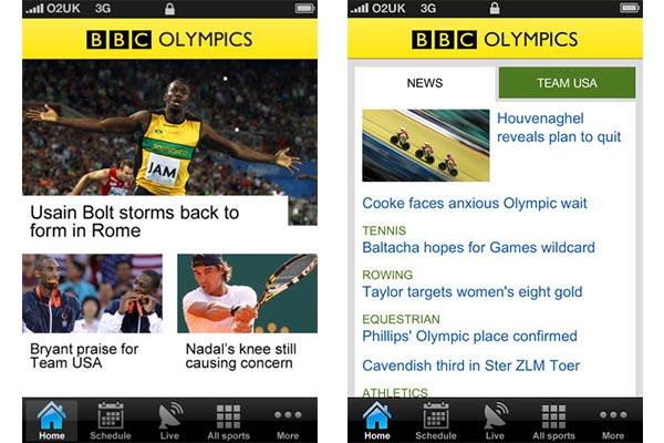 Ver los Juegos Olímpicos 2012 en vivo desde tu móvil con BBC Olympics - BBC-Olympics-android