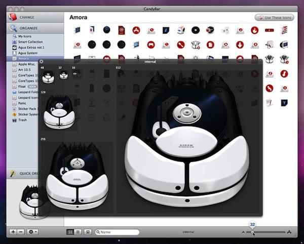 Apps para personalizar tu computadora - CandyBar-Mac