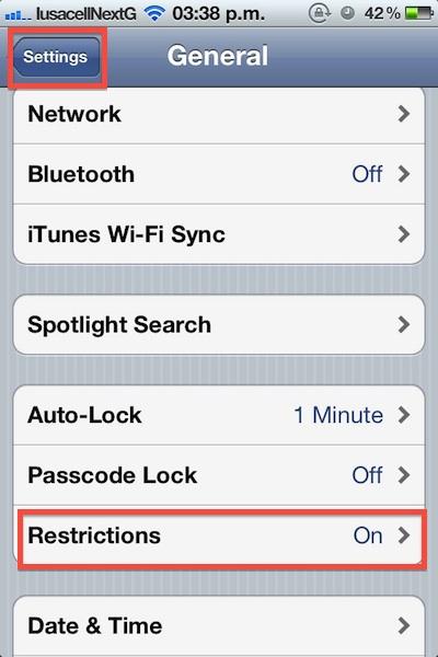 Cómo bloquear las compras dentro de la aplicación (In-app) en iOS - Como-bloquear-compras-in-app-1