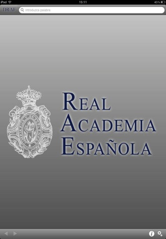 DRAE, el diccionario oficial de la Real Academia de la Lengua Española llega a iOS - DRAE-iOS