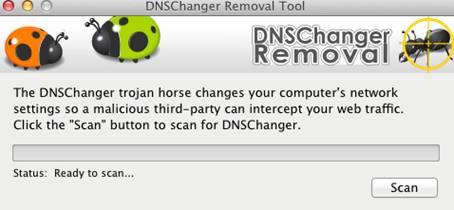 Como eliminar el troyano DNS Changer en una Mac y Pc