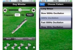 Dog Whistler, silbato para perro desde tu teléfono