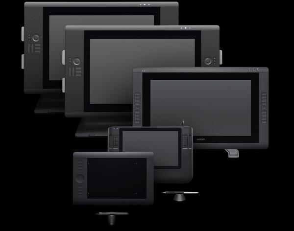FamilyCintiq Nuevas Cintiq 24HD Touch y Cintiq 22HD de Wacom pronto disponibles en Latinoamérica