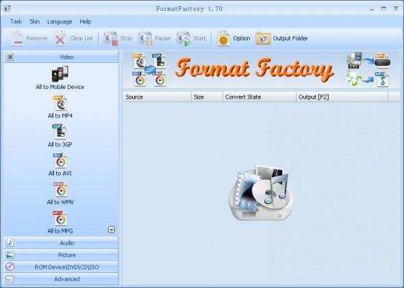 Convierte archivos entre formatos con estas geniales aplicaciones para tu computadora - FormatFactory-590x421