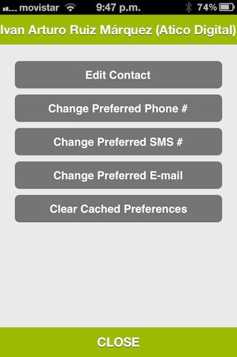 IMG 2544 Dialvetica, una agenda de contactos muy minimalista en tu iPhone