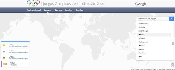 Sigue en directo los Juegos Olímpicos Londres 2012 desde Google - Juegos-Olimpicos-londres-2012-en-directo-google-2