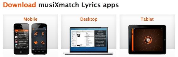 Musixmatch apps MusiXmatch, una genial aplicación para saber las letras nuestras canciones