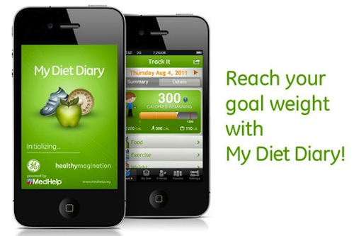 My Diet Diary, una app para controlar la dieta - My-Diet-Diary-ios