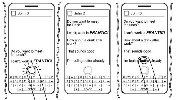 RIM intenta registrar una patente capaz de detectar nuestro estado de animo mientras mandamos un mensaje