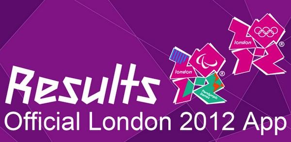 Consultar resultados de las Olimpiadas Londres 2012 desde tu smartphone - Resultados-Londres-2012