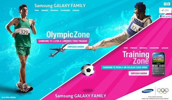 Samsung concurso olimpico Samsung México lanza promoción olímpica para ganarse smartphones