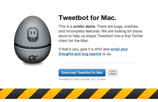 Tweetbot mac alpha Tweetbot para Mac disponible en versión alpha