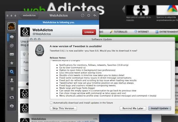 Tweetbot para mac actualizacion Tweetbot para Mac se actualiza con interesantes mejoras