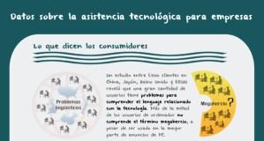 Datos sobre la asistencia tecnológica para empresas [Infografía]