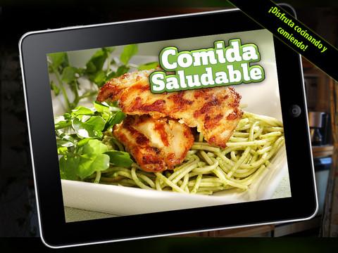 comida saludable hd Apps para cocinar con la ayuda de tu smartphone o tablet