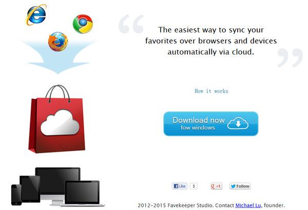 Sincroniza tus favoritos entre navegadores con Favkeeper - favkeeper