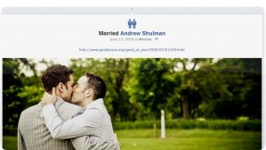 Facebook añade iconos de relación para matrimonios de personas del mismo sexo