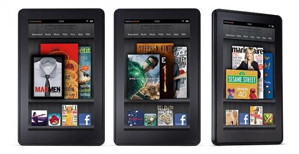 Amazon podría lanzar de 5 a 6 nuevas tabletas incluyendo una de 10 pulgadas - kindle-fire-590x304