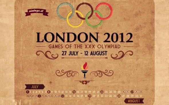 london vintage 590x368 Wallpapers de los Juegos Olímpicos Londres 2012