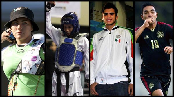 Calendario de la participación de mexicanos en Londres 2012 - mexicanos-juegos-olimpicos