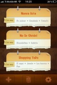 Shopping ToDo, que nada se te olvide nada cuando vas de compras con esta App para iPhone/iPod [Reseña]