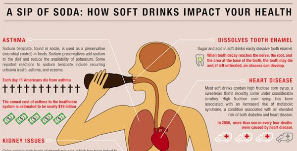 refrescos salud El impacto de los refrescos embotellados en tu organismo