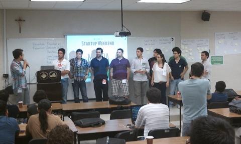 startup weekend merida startups Ganadores del Startup Weekend Mérida 2012