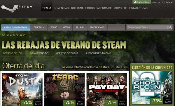 Steam presenta sus espectaculares descuentos de verano - steam-descuentos