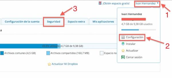 Cómo activar la verificación de dos pasos en Dropbox - Activar-verificacion-dos-pasos-dropbox-1