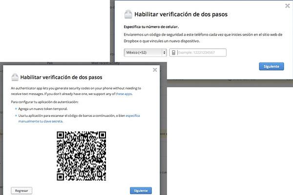 Cómo activar la verificación de dos pasos en Dropbox - Activar-verificacion-dos-pasos-dropbox-5