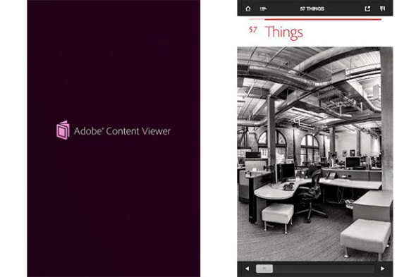 Adobe Content Viewer 590x393 Publica tus creaciones digitales con Adobe Content Viewer