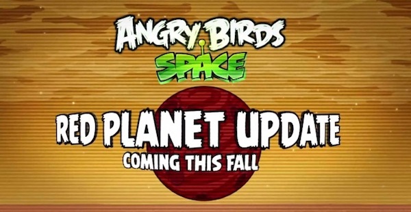 Angry Birds Space Rovio muestra en video de la nueva actualización de Angry Birds Space