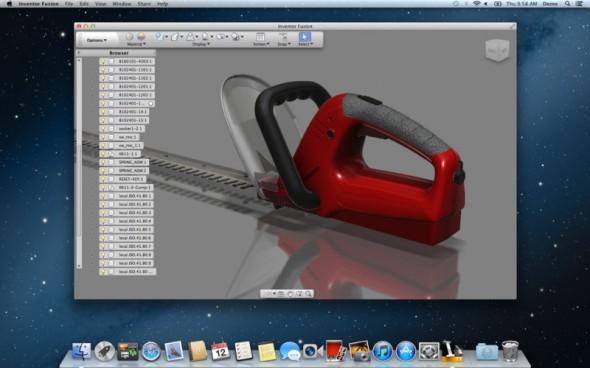 Autodesk Inventor Fusion aparece en la Mac App Store - Autodesk-inventor-fusion-590x368