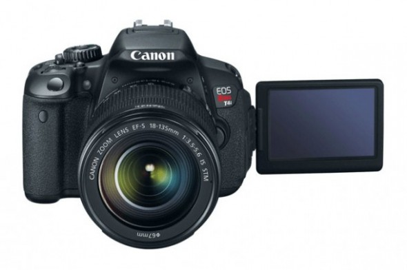 Canon EOS Rebel T4i 590x392 Canon EOS Rebel T4i ya está disponible en México