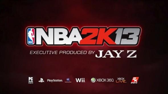 NBA 2K13 Jay Z 590x330 El rapero Jay Z será productor ejecutivo de NBA 2k13