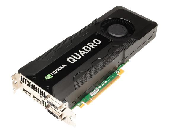 NVIDIA Quadro K5000 3qtr NVIDIA anuncia nuevas GPU móviles de la línea Quadro
