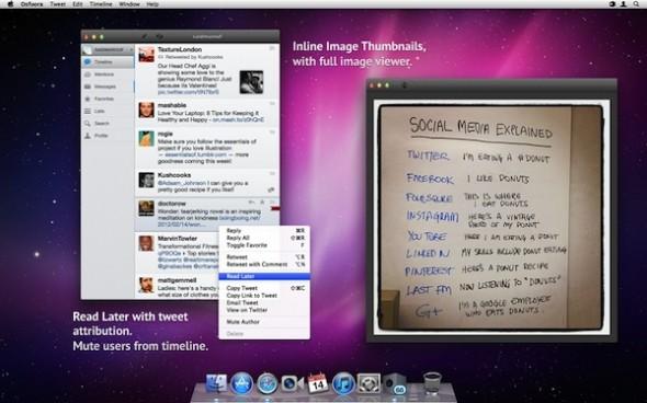 Osfoora mac 590x368 Clientes de Twitter para escritorios Windows y Mac